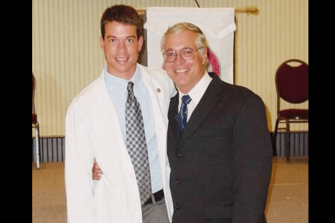 Brian Shaffer and father