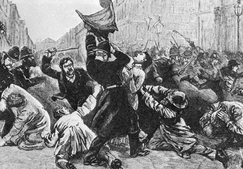 Bloody Sunday in 1887