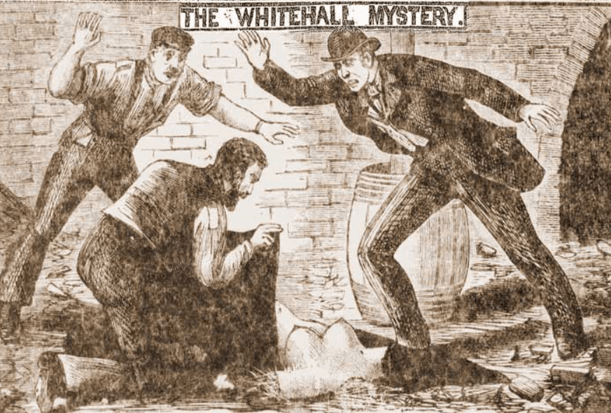 Illustration of the murders made in 1888