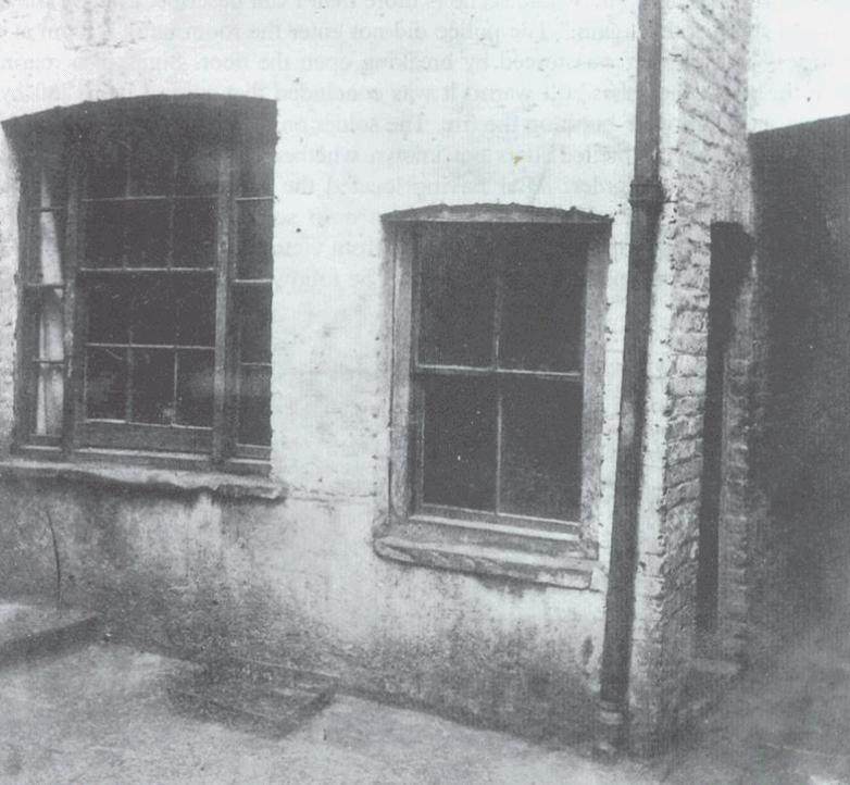 House where Kelly was murdered