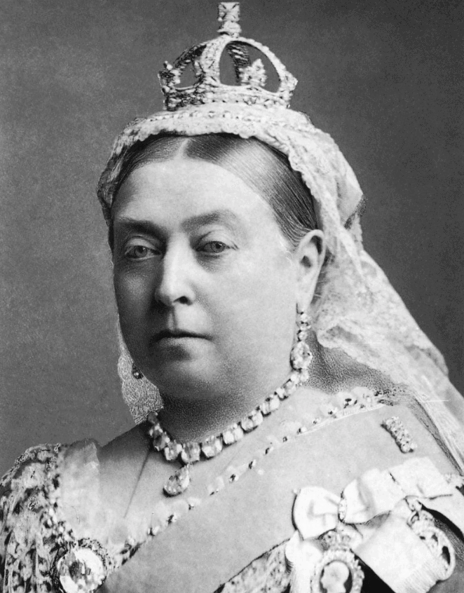 Queen Victoria just before the murders took place in the 1880s
