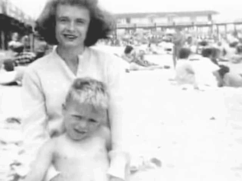 Ted Bundy and his mother