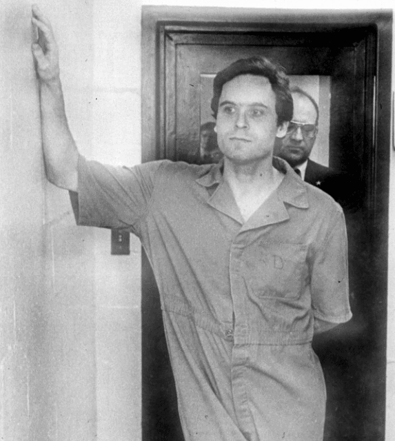 Ted Bundy during indictement