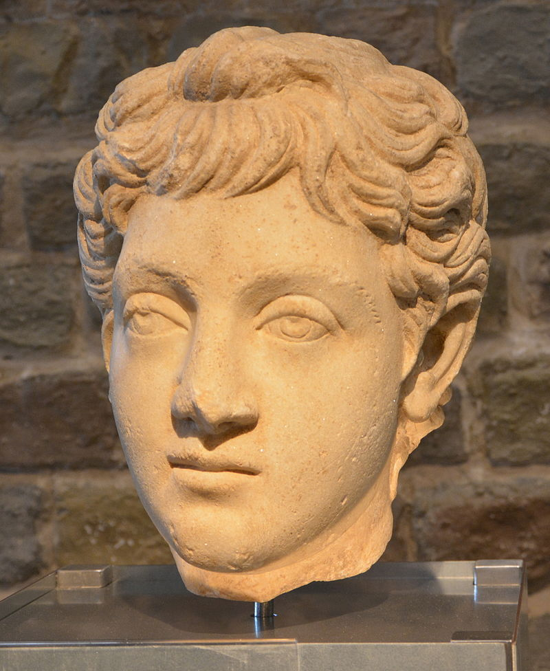 Commodus as a boy