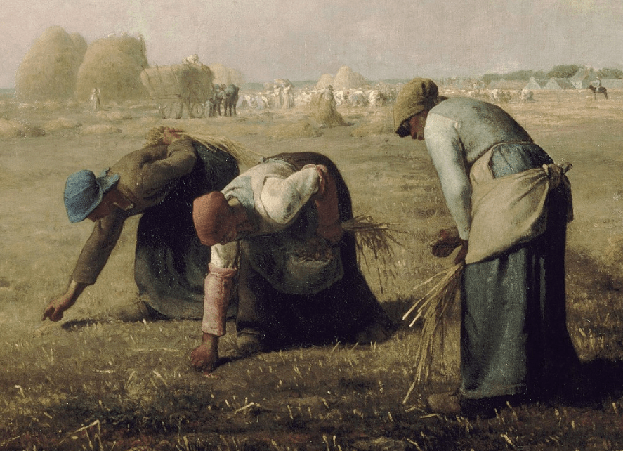 The gleaners musee d'orsay